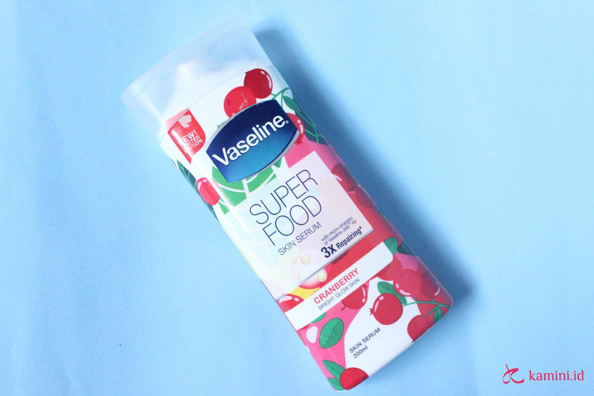 Review Vaseline Superfood 4