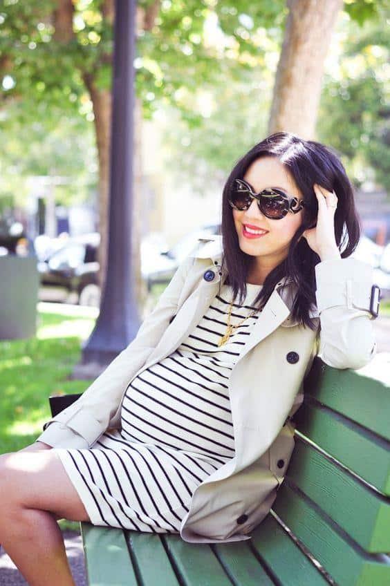 Style wanita hamil untuk kerja 1 Copy