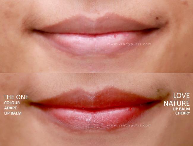 manfaat lip balm oriflame_memebrikan warna