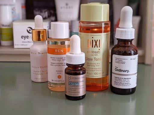 tips perawatan wajah untuk renang_eksfoliasi