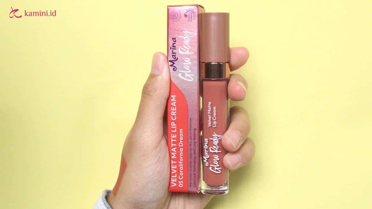 Review Marina Glow Ready Lip Cream