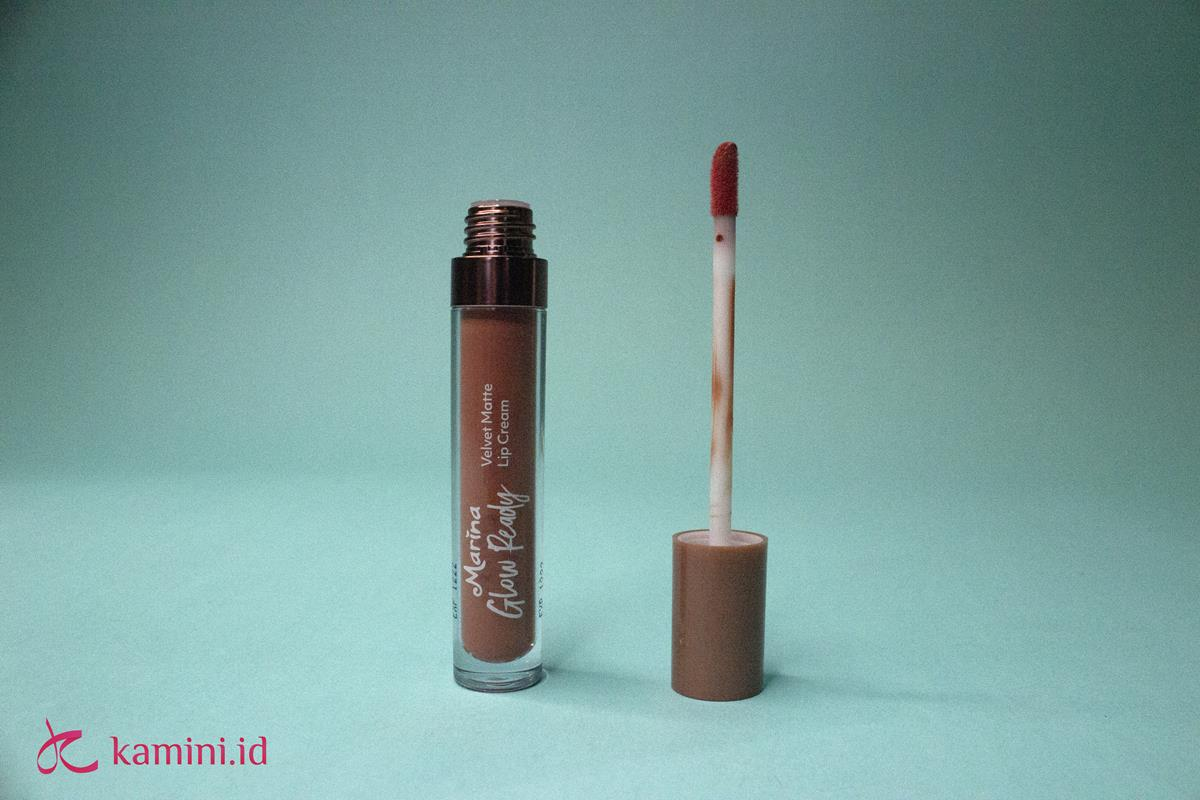 Review Marina Glow Ready Lip Cream 3