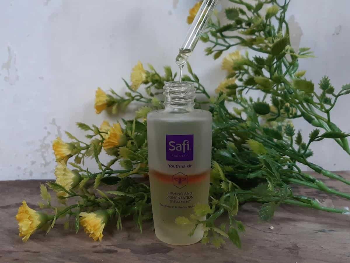 Review Safi Age Defy Youth Elixir_tImpresi