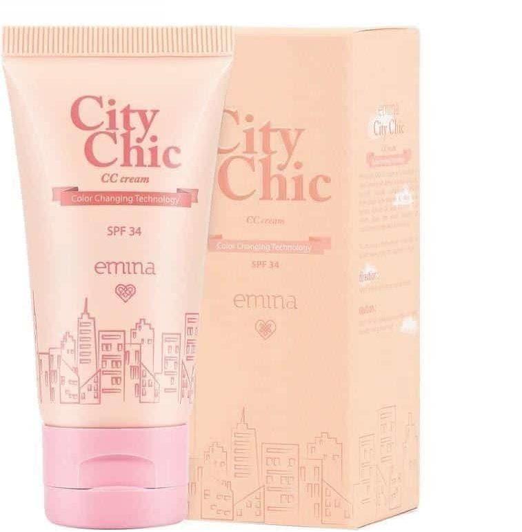 produk emina untuk sehari-hari_Emina City Chic CC Cream