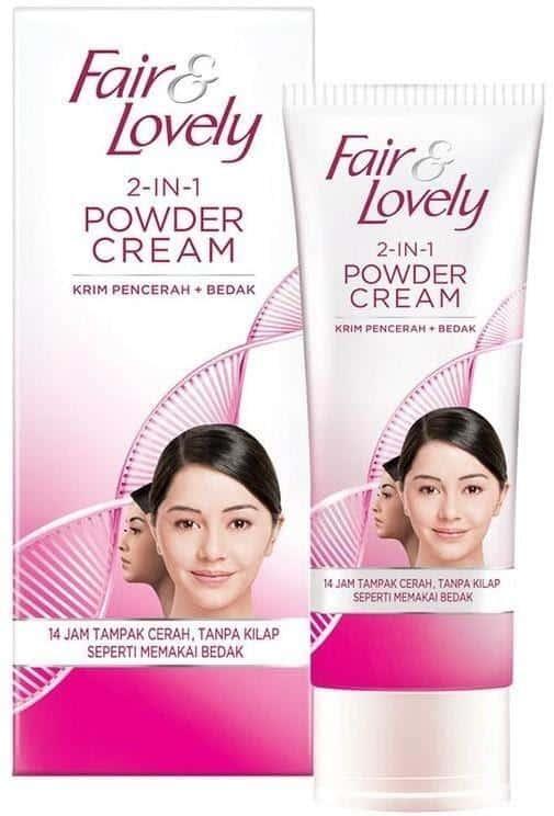 produk glow & lovely untuk kulit berjerawat_Fair and Lovely 2 in 1 Powder Cream