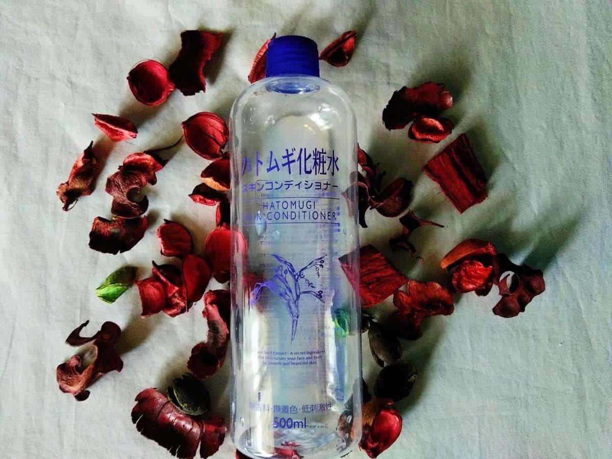 review hatomugi skin conditioner