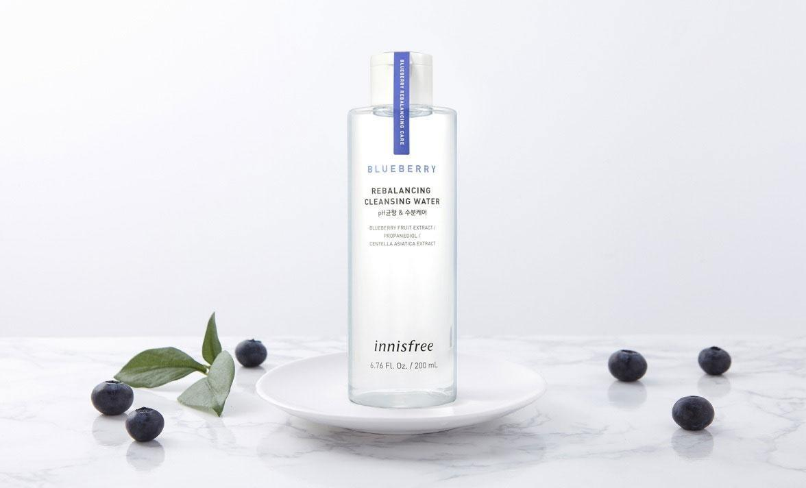 varian innisfree blueberry rebalancing_Innisfree Blueberry Rebalancing Cleansing Water