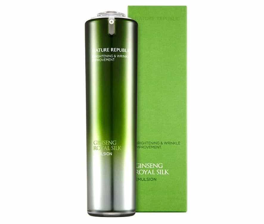 varian nature republic emulsion_Ginseng Royal Silk Emulsion