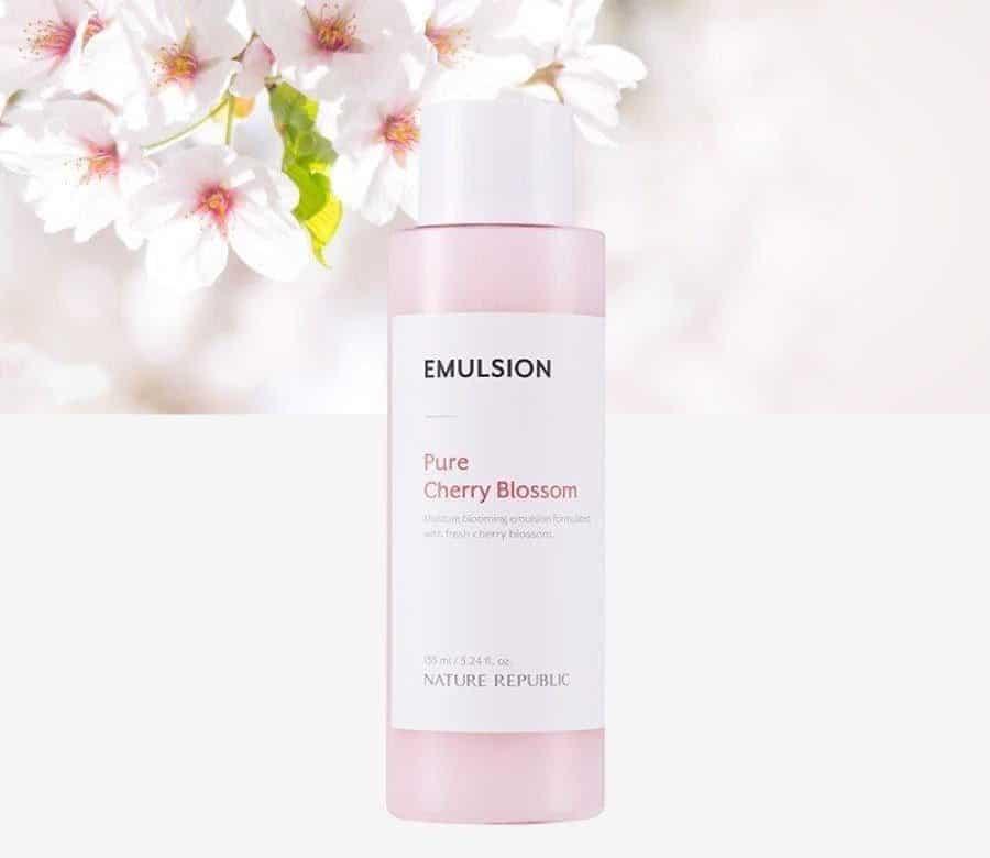 varian nature republic emulsion_Pure Cherry Blossom Glowing Emulsion