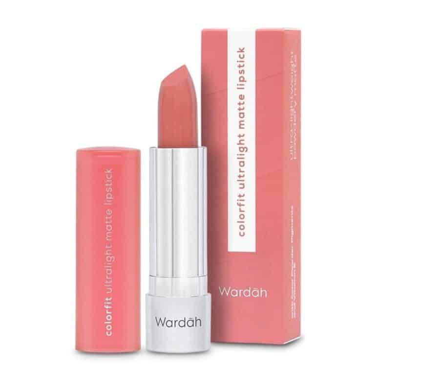 warna lipstik wardah matte untuk remaja_Wardah Colorfit Ultralight Matte Lipstick Summer Peach