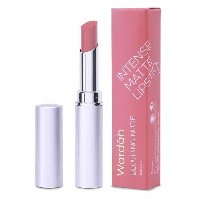 warna lipstik wardah matte untuk remaja_Wardah Intense Matte Lipstick Blushing Nude