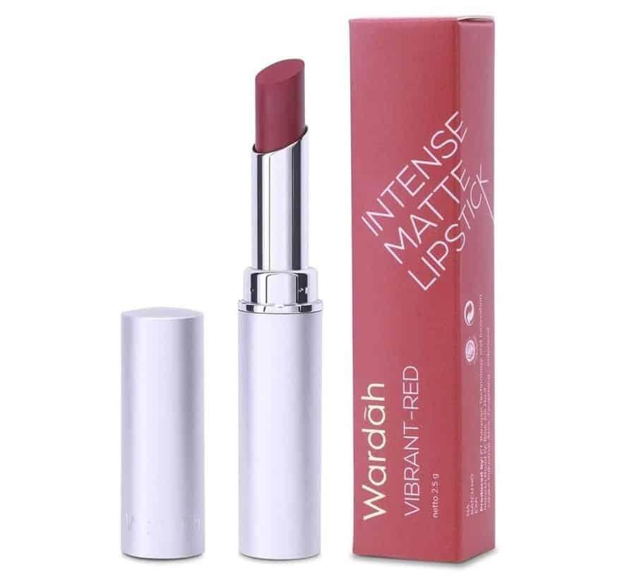 warna lipstik wardah matte untuk remaja_Wardah Intense Matte Lipstick Vibrant Red