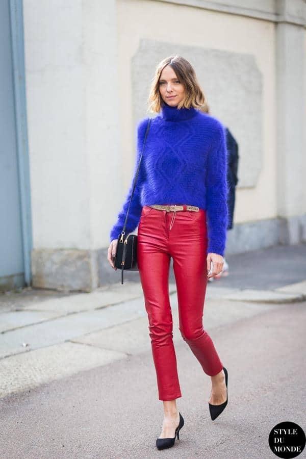 warna yang cocok dengan biru_Biru dan Merah
