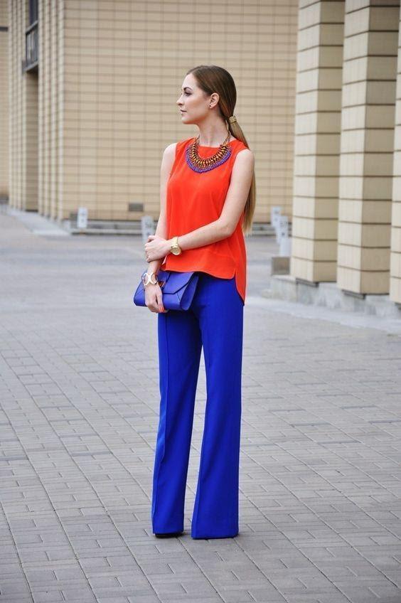 warna yang cocok dengan biru_Biru dan Orange