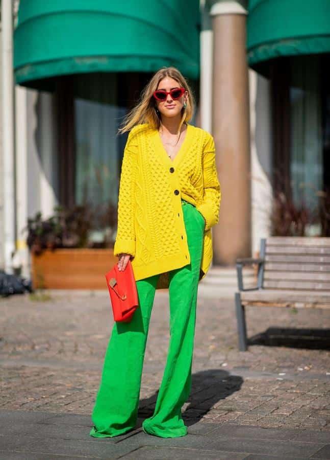 warna yang cocok dengan hijau_Hijau Hijau dan Kuning