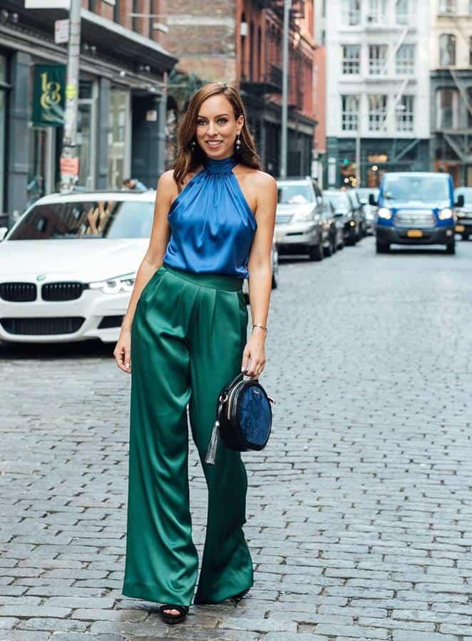 warna yang cocok dengan hijau_Hijau dan Biru