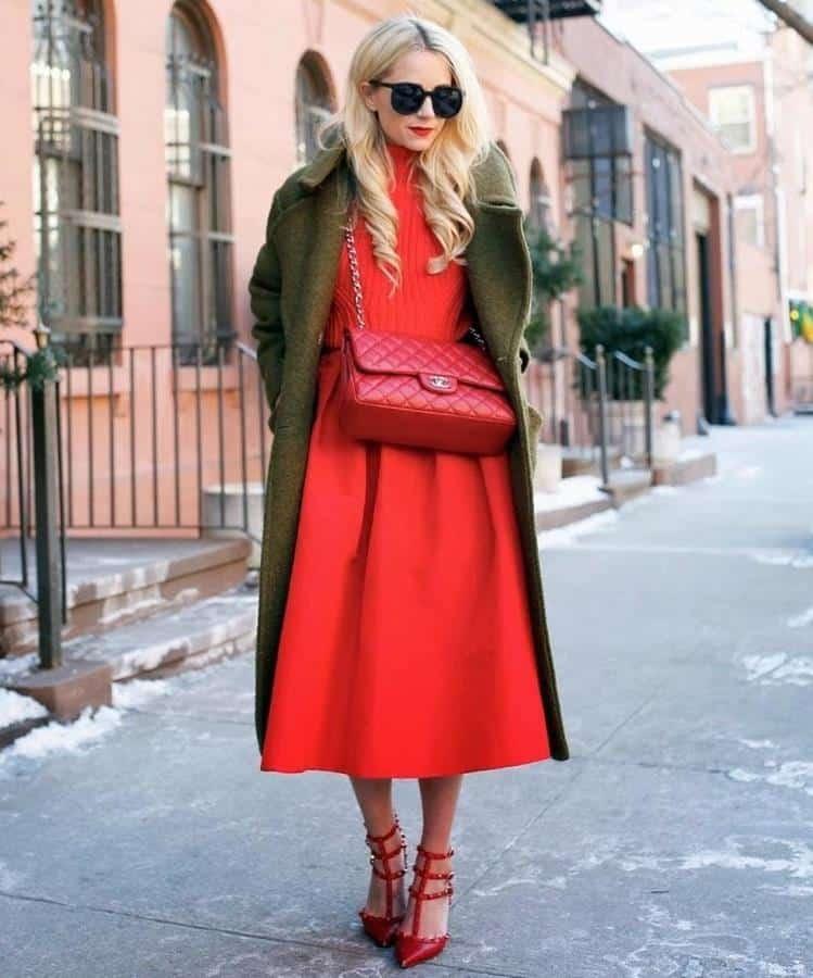 warna yang cocok dengan hijau_Hijau dan Merah