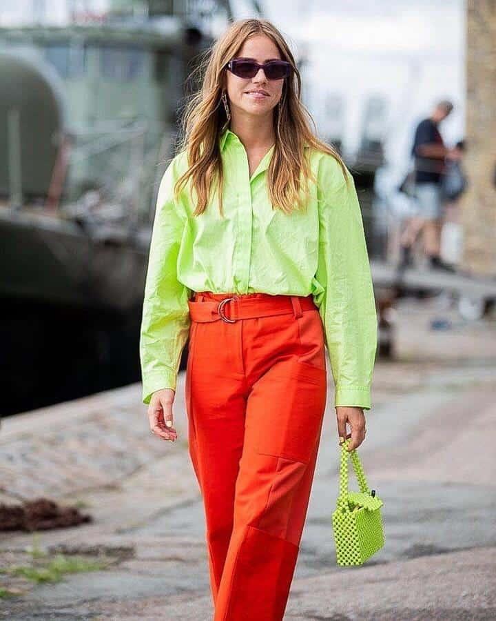 warna yang cocok dengan hijau_Hijau dan Orange
