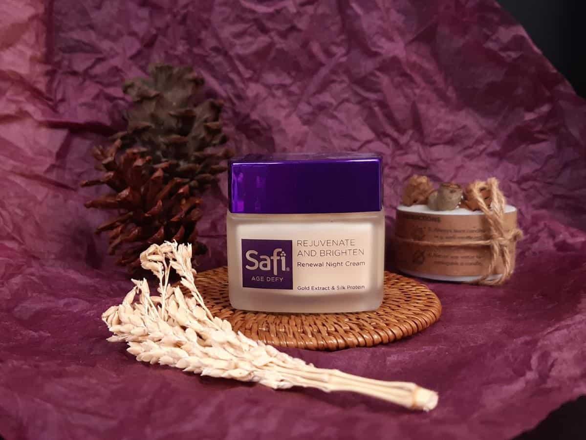 Review Safi Age Defy Renewal Night Cream