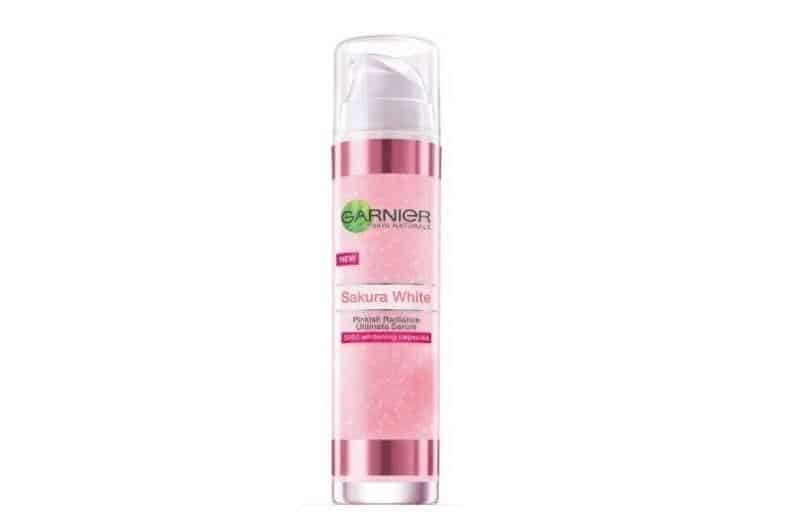 serum wajah dibawah 50 ribu_Garnier Sakura White Pinkish Radiant Ultimate Serum