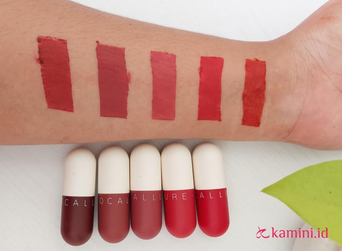 Review Focallure Capsule Lipstick, Si Mungil yang Tahan Lama 8