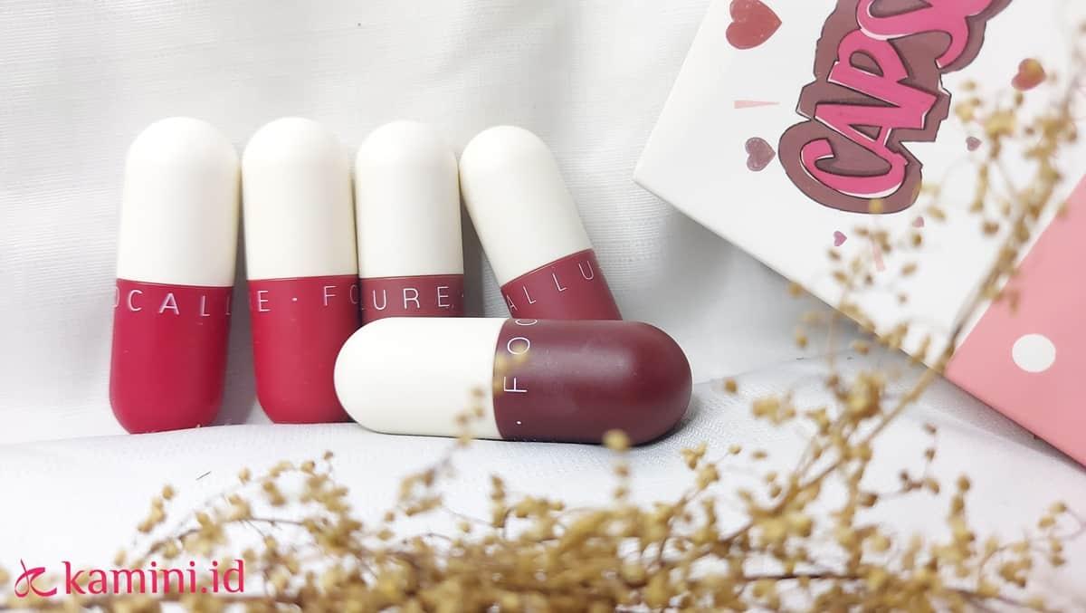 Review Focallure Capsule Lipstick, Si Mungil yang Tahan Lama 17