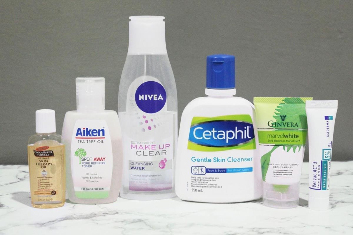 tips agar tidak mudah jerawatan selama puasa_Pilihlah Skincare yang Sesuai