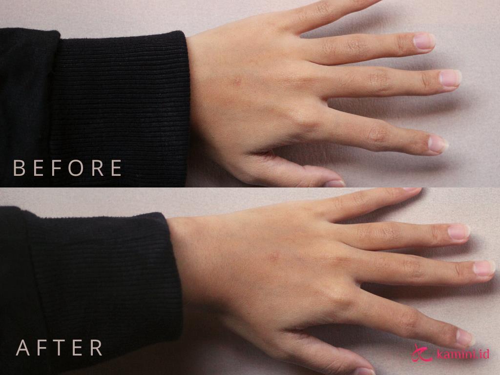 Review Viva Hand and Nail Cream_Aplikasi