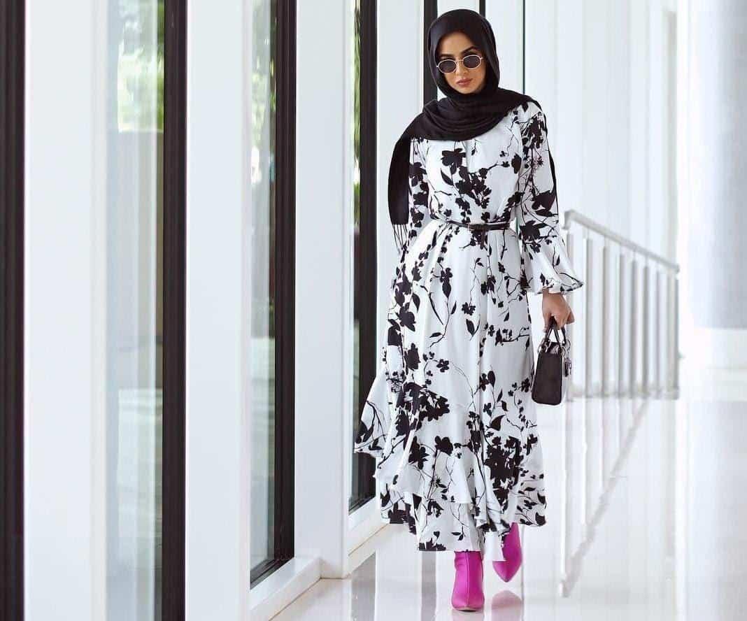 inspirasi busana lebaran wanita_Maxi Dress
