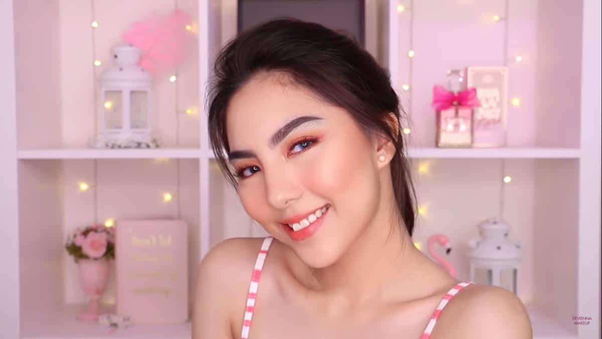 inspirasi makeup lebaran_Summer Peach Makeup Look