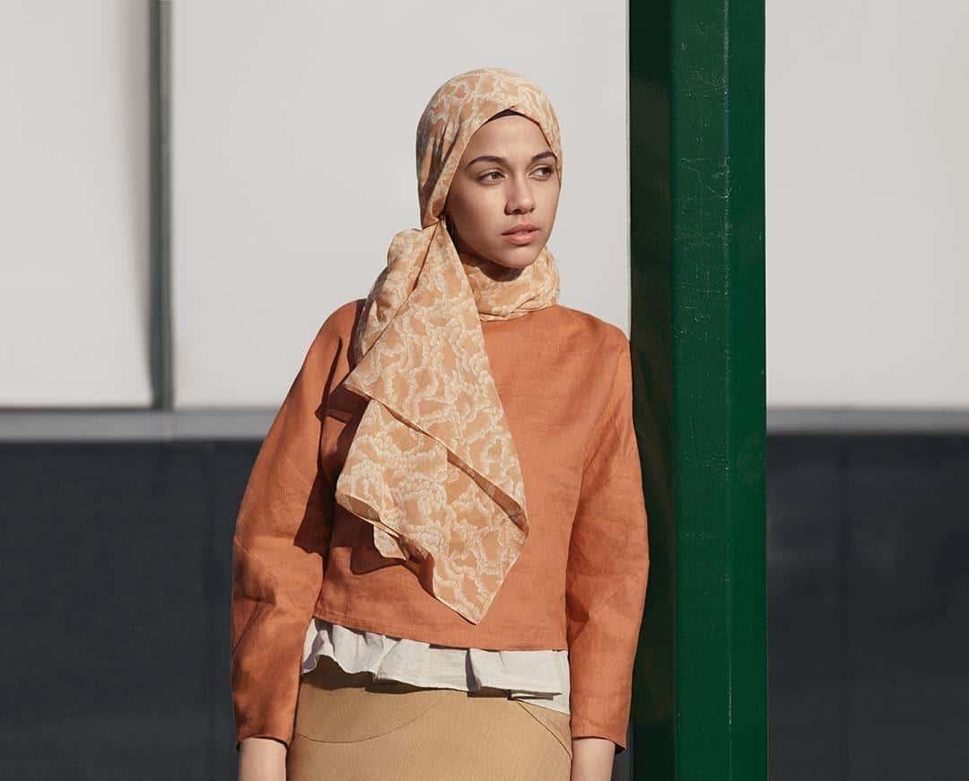 model hijab untuk lebaran_Hijab kreasi Hana Tajima