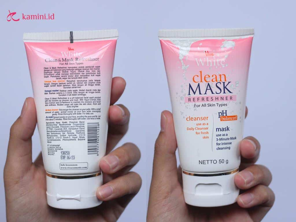 review viva white clan and mask