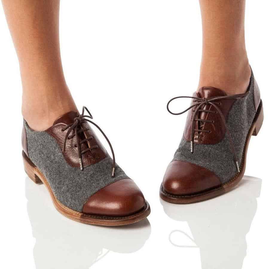 alas kaki untuk kaki lebar_Oxford
