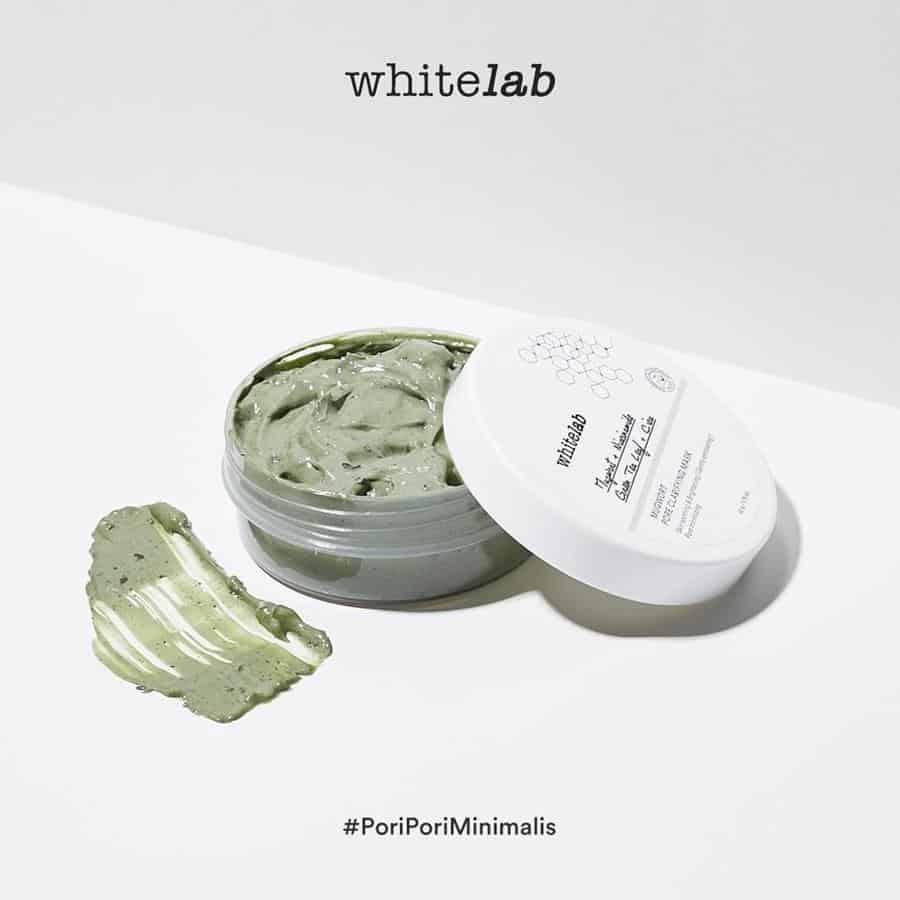 clay mask lokal_Whitelab Mugwort Pore Clarifying Mask