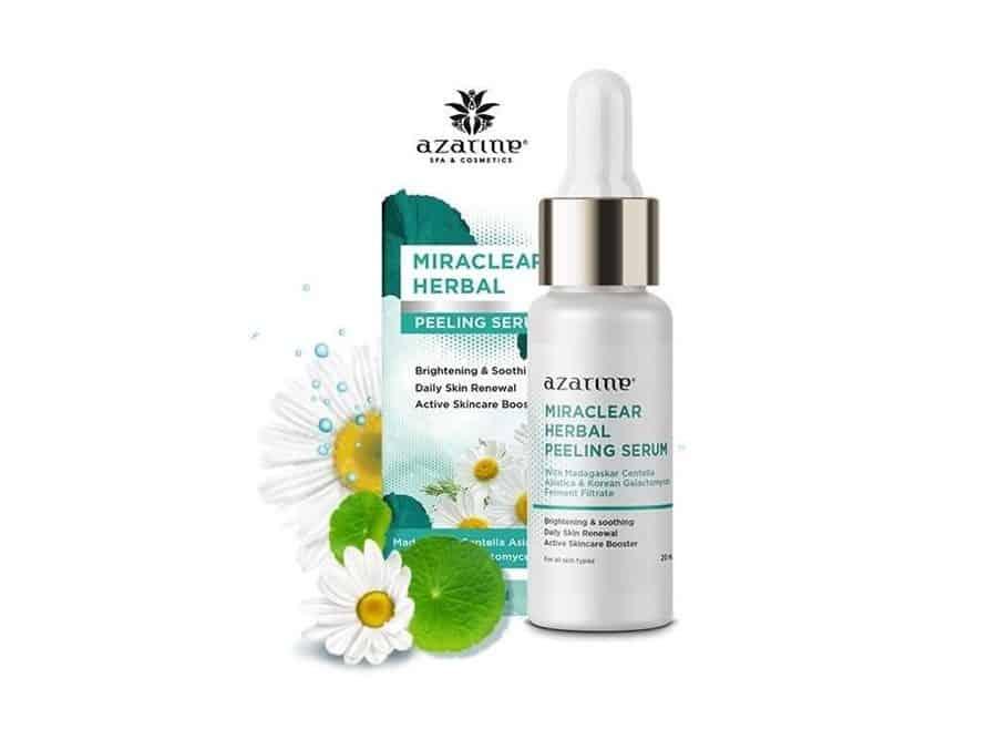 exfoliating serum lokal_Azarine Miraclear Herbal Peeling Serum