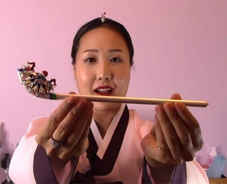 hiasan rambut tradisional korea_Binyeo