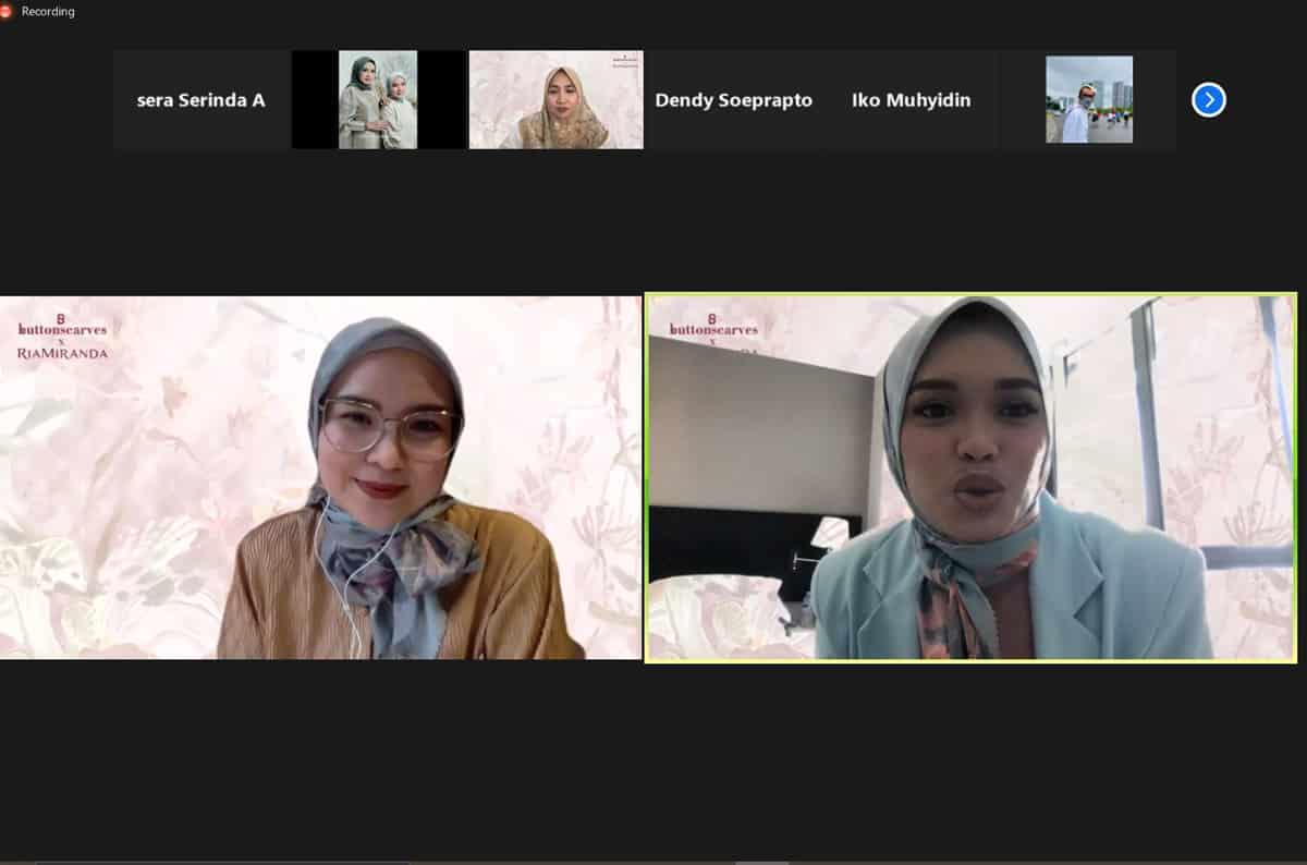 kolaborasi ButterscarvesxRiaMiranda_pemberdayaan wanita