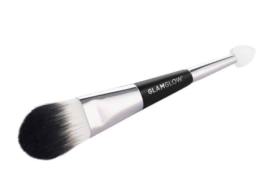 kuas masker wajah_Double Ended Application Brush – Glamglow