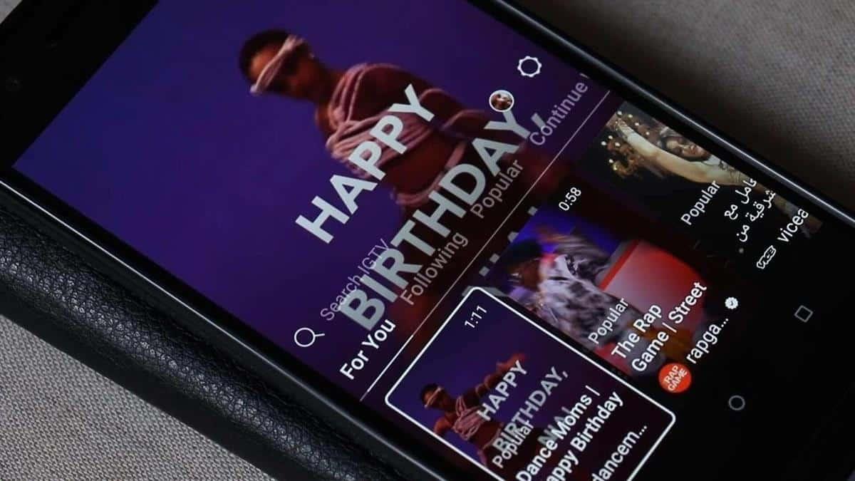 surprise ulang tahun online_Menyanyikan Lagu di IG TV