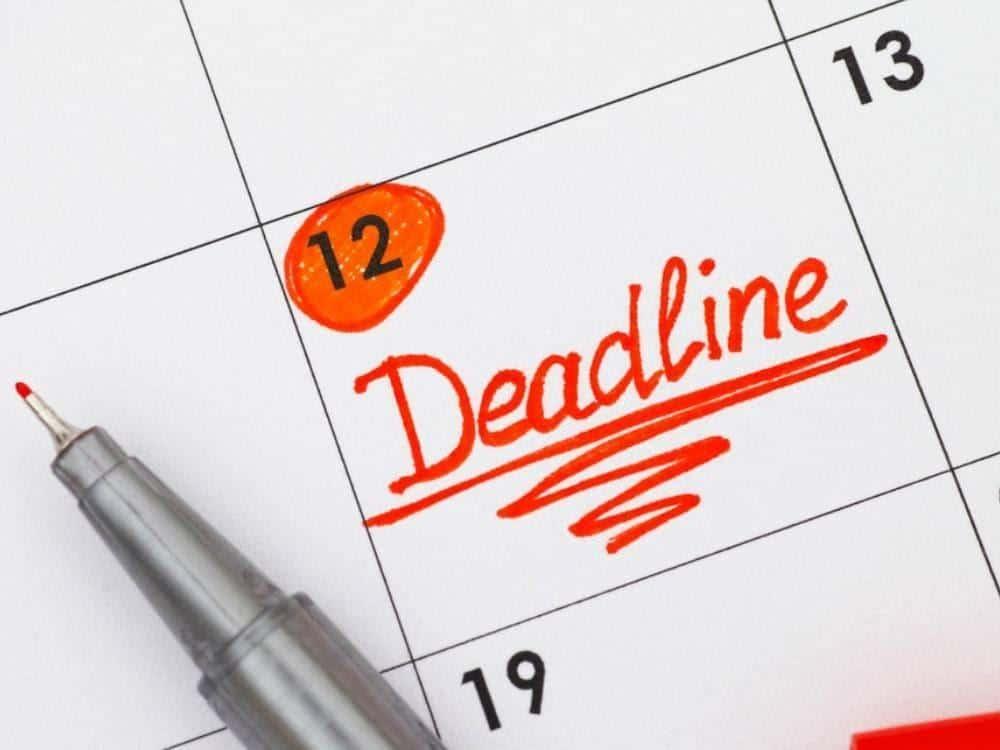 cara mengatasi overthinking_Membuat Deadline