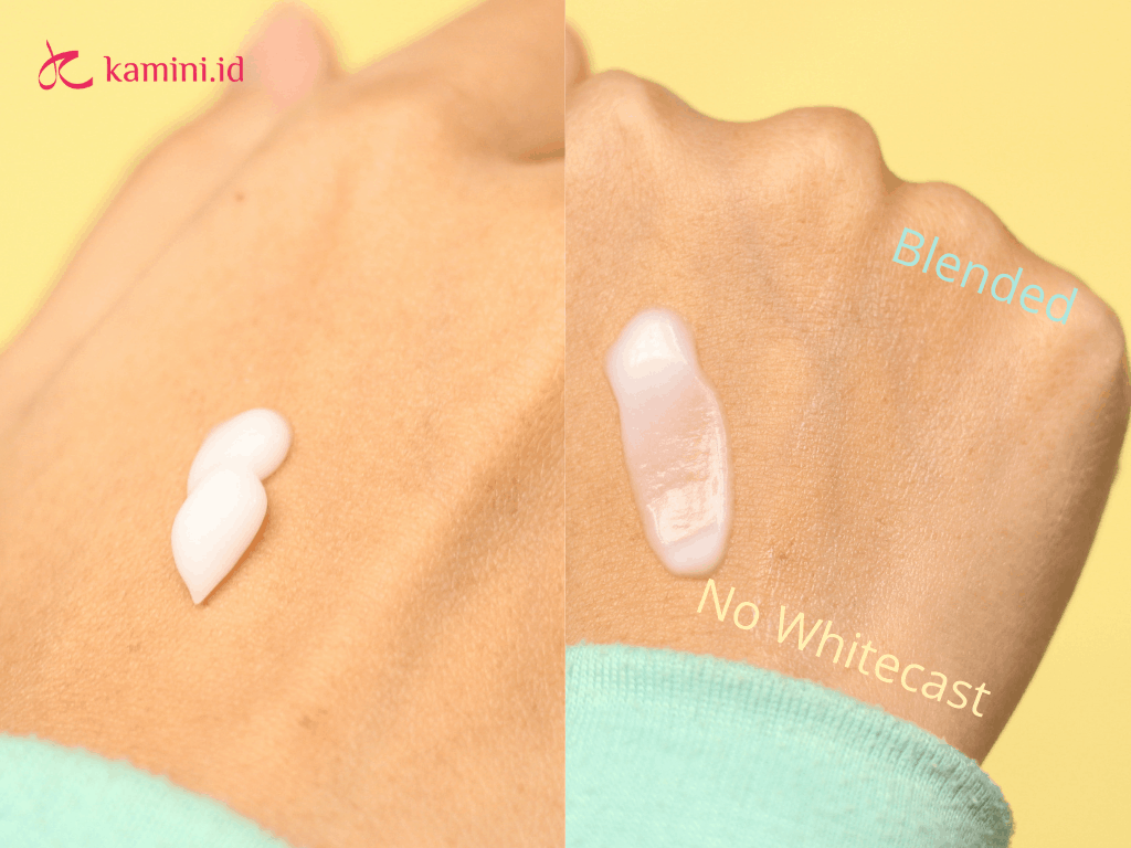 review azarine hydrasoothe sunscreen gel_tekstur