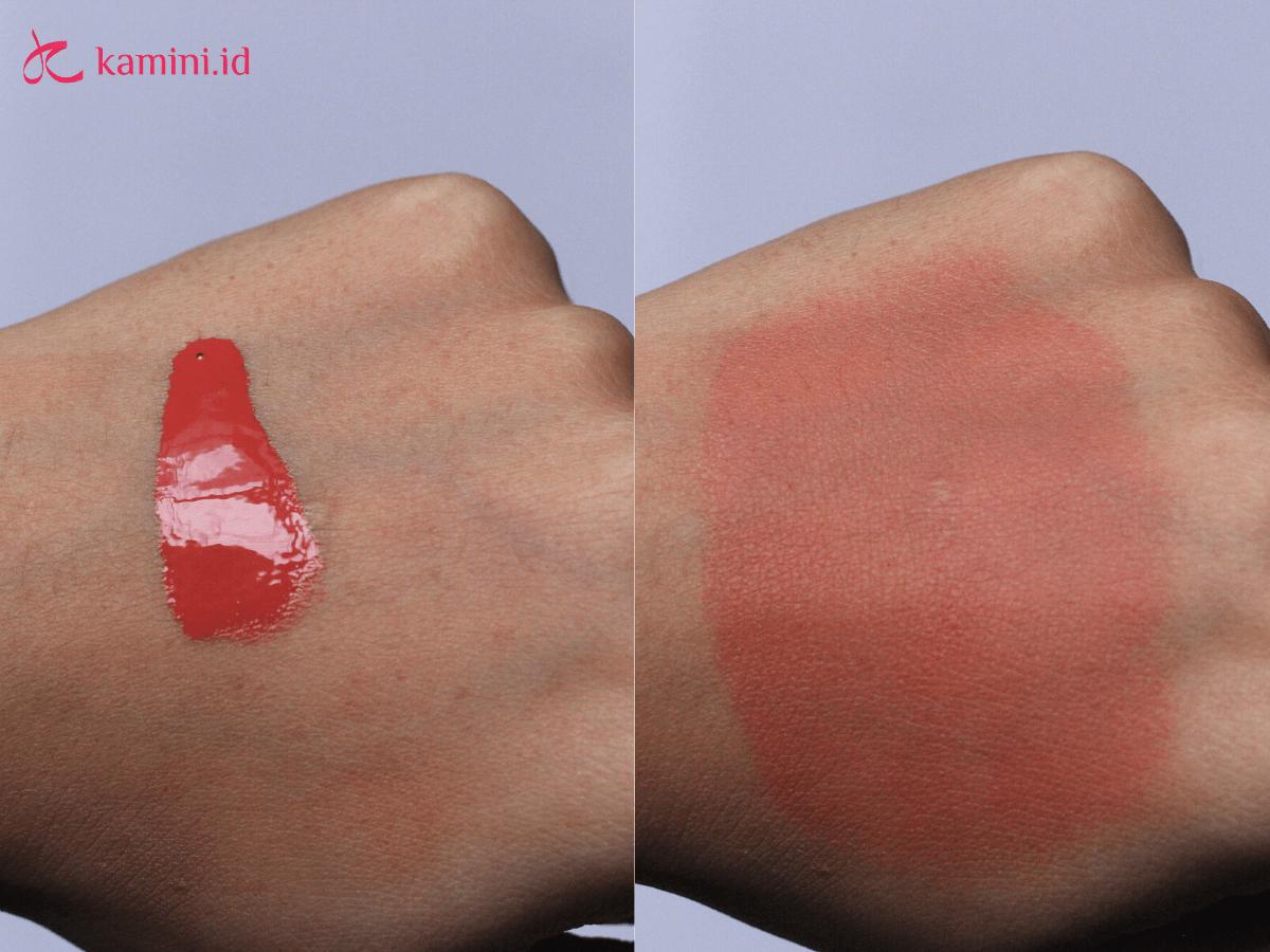 Review Make Over Hydrastay Liquid Tint Blush, Anti Kering 7