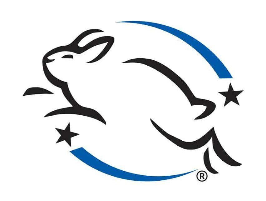 simbol pada produk kosmetik_leaping bunny